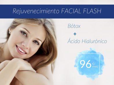 Rejuvenecimiento Facial Flash